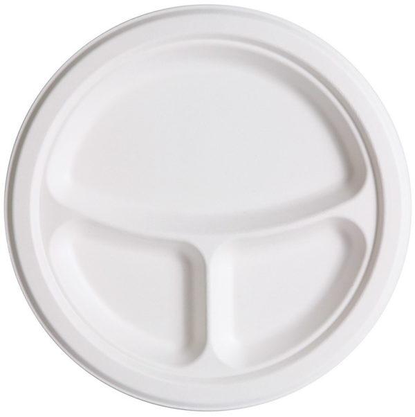 Foam Plate 3 Comp