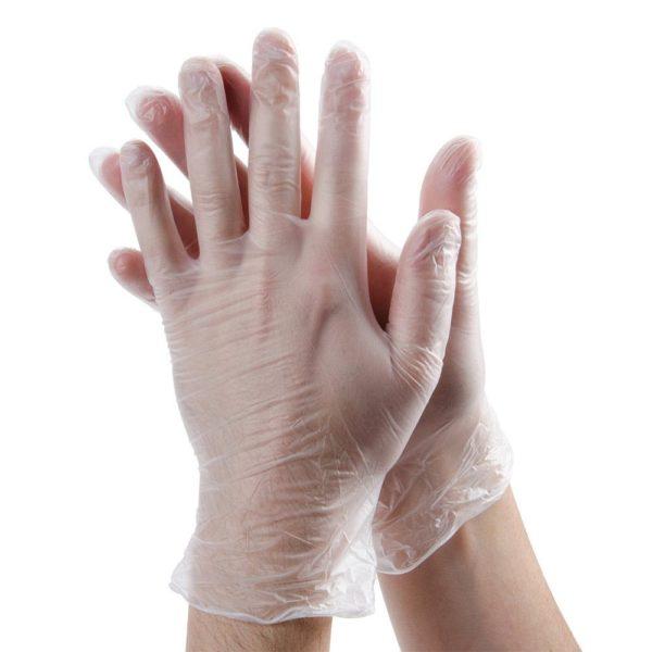 Vinyl Glove Powdered-M
