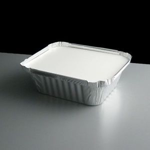 Aluminum container 8342 with lid