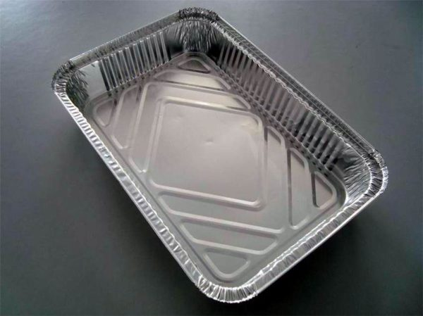 Aluminum  container 83120 with lid