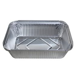 Aluminum container 8389 with lid