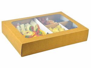 Regular platter box and insert (31 x 22.5 x 8.2cm)