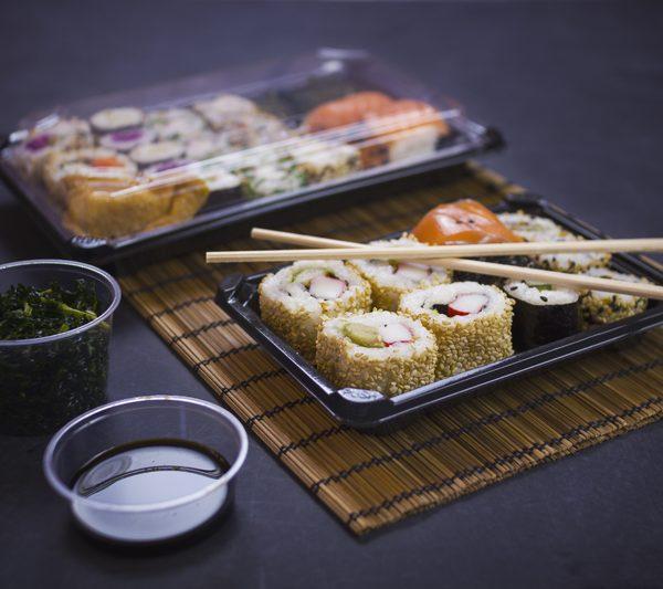 No.2 PLA sushi combo (17.5 x 12.5 x 4cm)