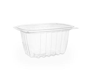 16oz PLA rectangular deli container with lids