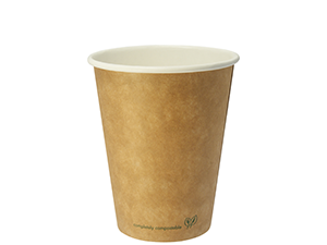 12oz brown kraft hot cup