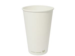 16oz white hot cup