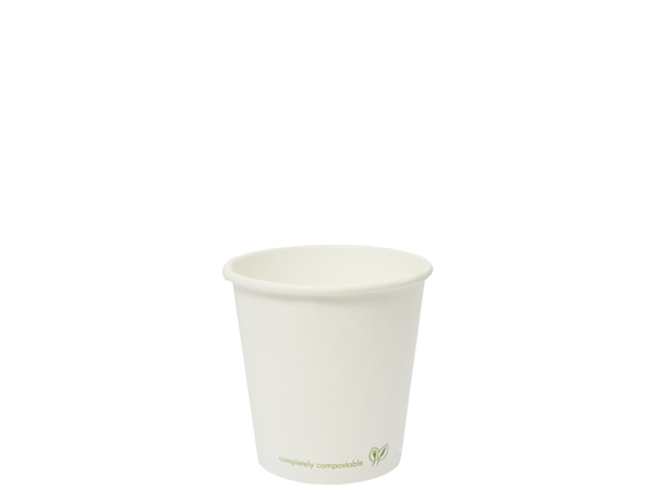 4oz white hot cup