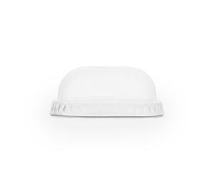 76mm PLA flat lid, no hole (fits slim cups)
