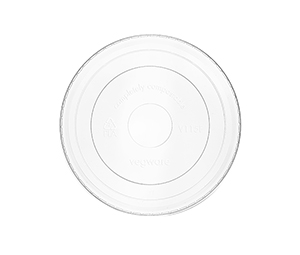 115mm flat PLA cold lid (fits 12-32oz soup)