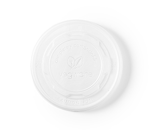 115mm flat CPLA lid (fits 12-32oz containers)