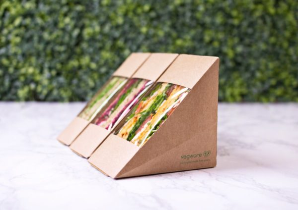 Kraft eco sandwich wedge