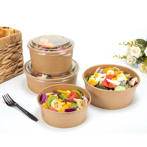 Kraft salad bowls