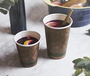 6oz brown kraft hot cup