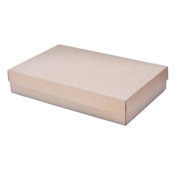 Kraft Platter box with paper lid