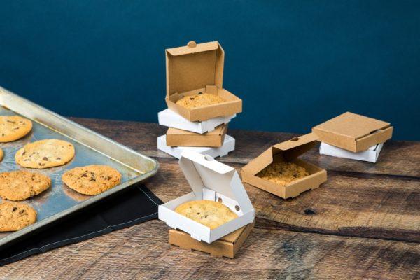 Mini Kraft pizza box ( single slice ) 100pcs